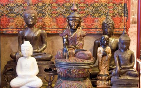 beelden en boeddha's
