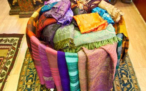 Zijden sjaals - diverse landen