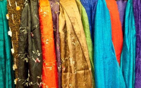 Zijden sjaals - Thailand