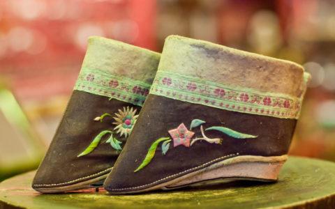 Antieke schoentjes - China