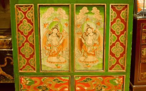 Dekenkast - Tibet