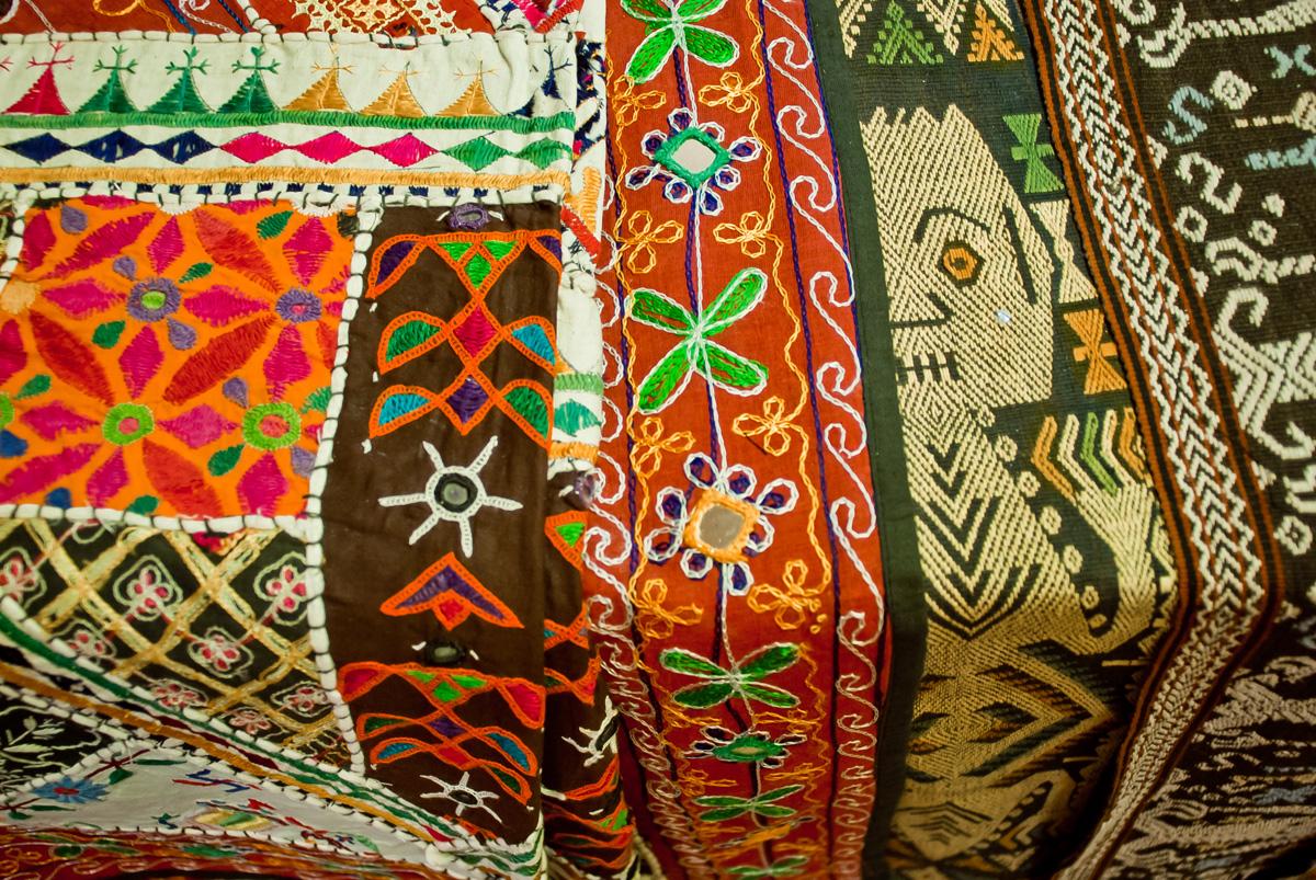 Textiel baobab - Mandje doek doek ...