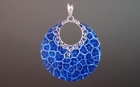 hanger blauw schuimkoraal