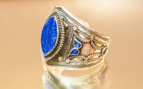 Armband lapis lazuli - Afghanistan