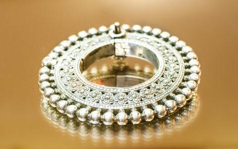 Armband zilver - India
